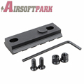 Rail Mount Aluminum Alloy Picatinny Weaver Rail Hunting Caza with 2 Inch Spare 5 Slot for