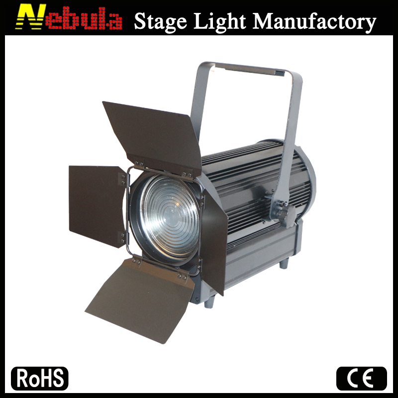 Professional Qihe stage studio film lighting equipment 250w led fresnel light