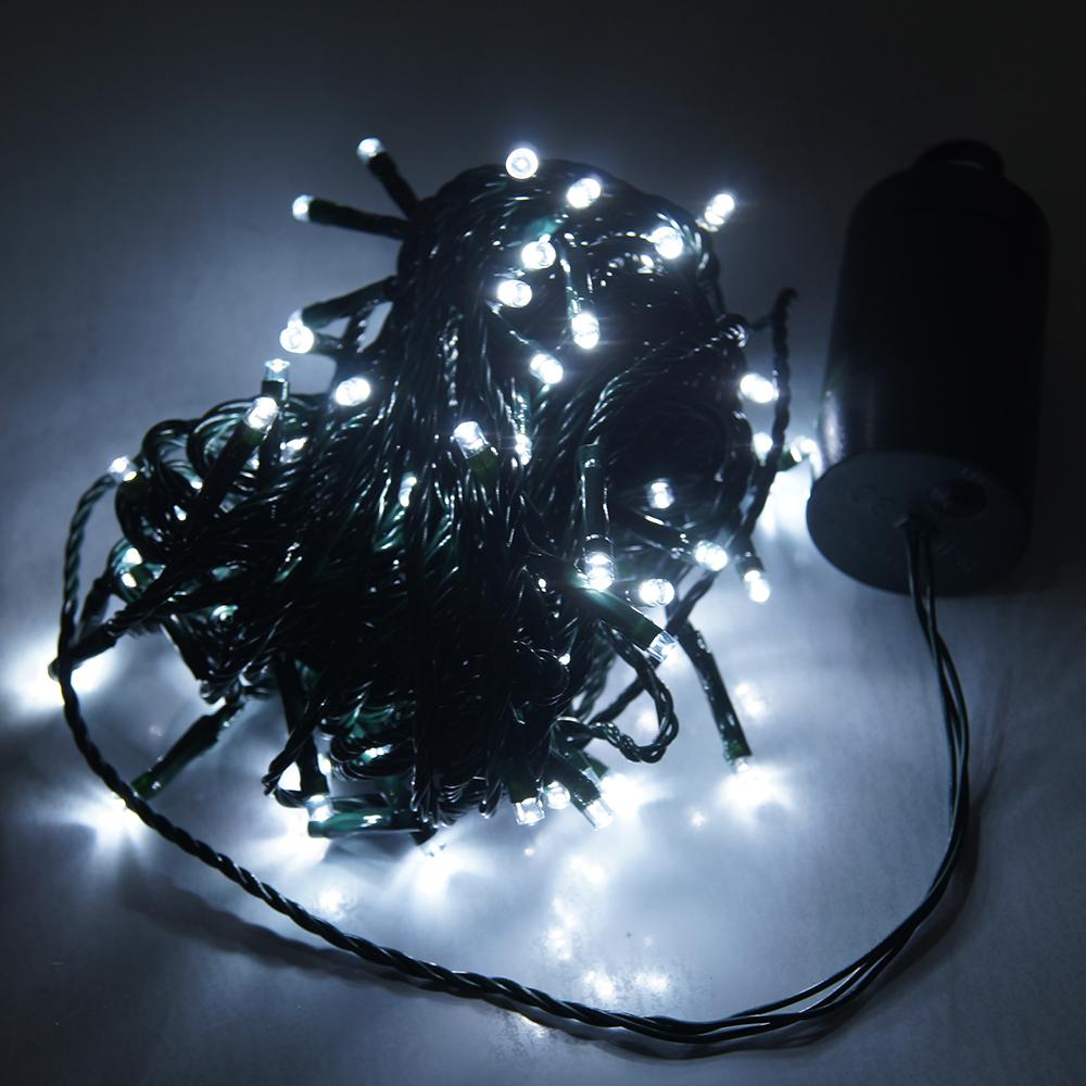 Battery Powered Led Christmas Light/led Round Net String Light,12 ...