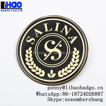 Metal nameplatescustom metal logo stickersaluminum logo stickers