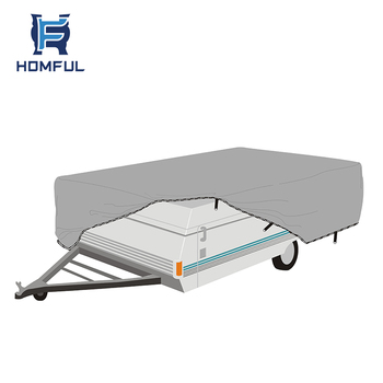 Pop up camper RV covers for new zealand motorhome roof top covers
