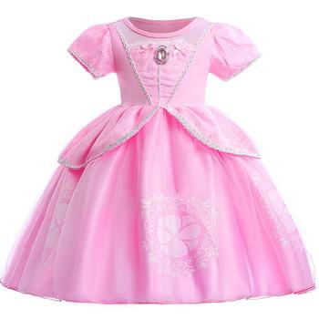 Halloween Kleider Fur Kinder.Kinder Madchen Prinzessin Sofia Das Erste Kostum Halloween Cosplay Phantasie Party Kleid Kleidung Urlaub Weihnachten Kinder Kleider Buy Kinder