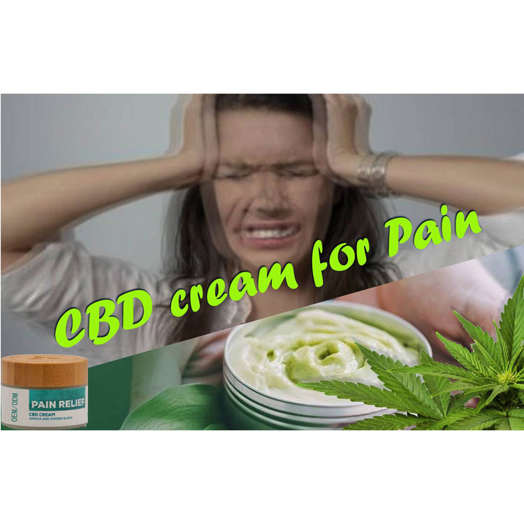 OEM/ODM Private Label High Quality  CBD Pain Relief Cream