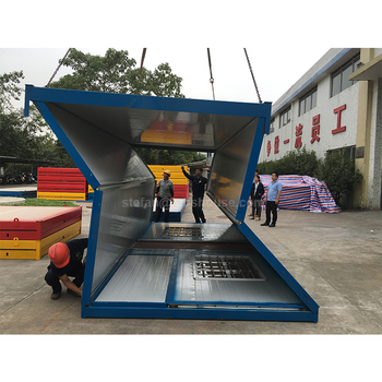 20ft 40ft moderna casa modular prefabricada china casas - Contenedores casas prefabricadas ...