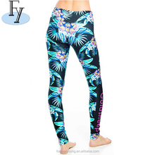 ladies fitness clothing women leggings tight yoga wear capris pants print