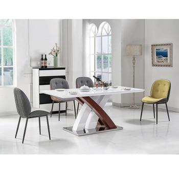 Esszimmer Mobel Weiss Hochglanz Moderne Holz Esstisch Made In China