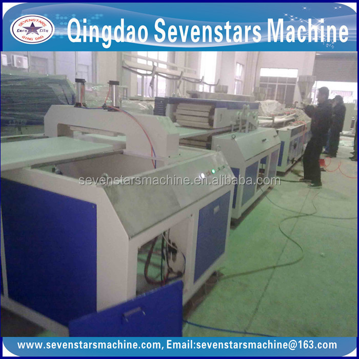 sevenstars best quality turkey Plastic Hollow Sheet Production Line