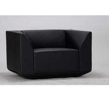 New Design Leather Single Sofa Set