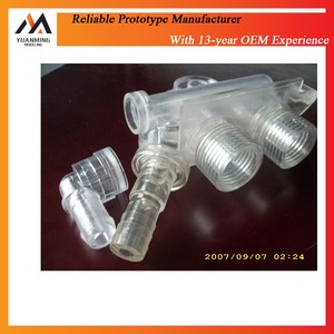 Crystal acrylic plastic injection molding products machinery components