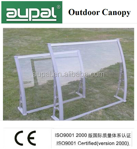2015 New design polycarbonate garden shade canopy,window awnings