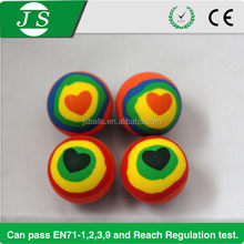 Beautiful updated promotional rubber ball toys baby