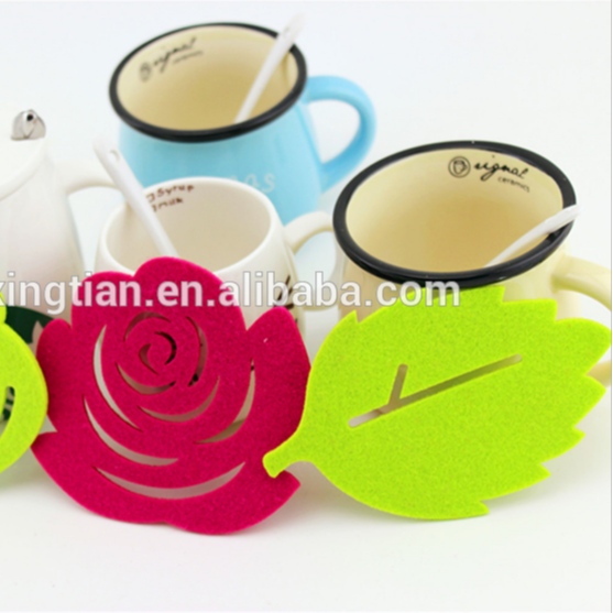 Promotional Felt Coaster Low Price Custom Shape Coaster