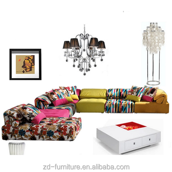 Fashional Colorful Sofa Sections Design #17S