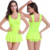 Wholesaler Pretty Double shoulders swimsuit Hot sexy Young girls swimwear