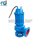 High Flow Low Head Sewage Submersible Grinder Waste Water Pump 20 hp with Pressure 500 bar for Dirty Water 500m3/h