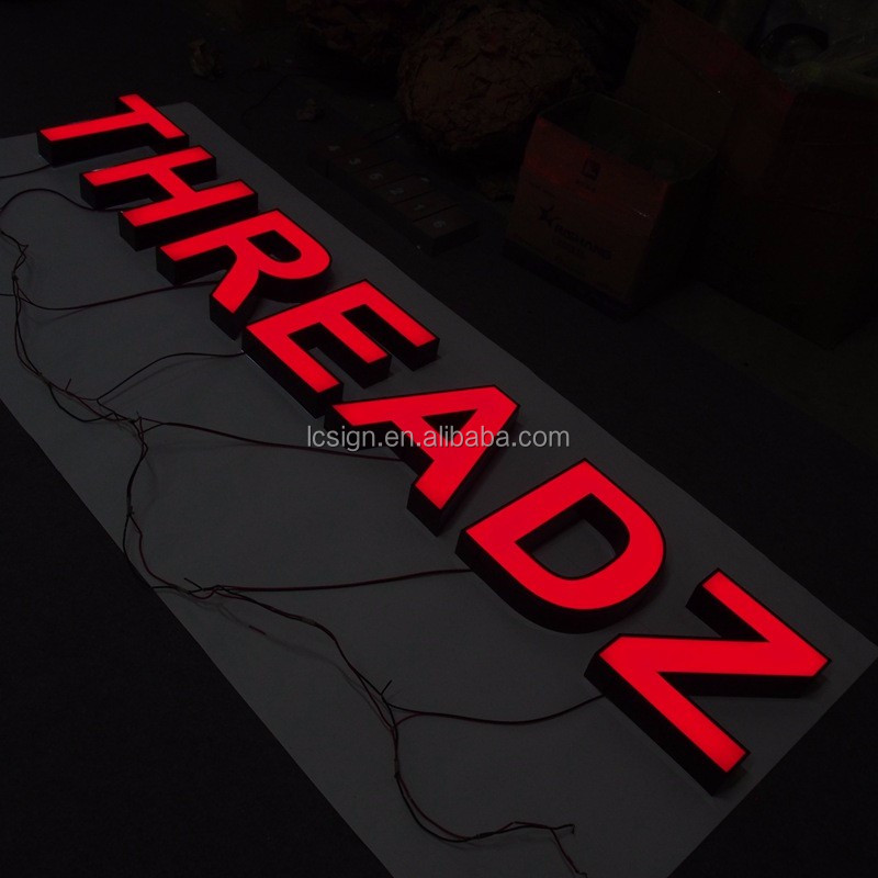 High Quality Epoxy Channel Letter Sign Price Of Polyurethane Resin Letters  - Buy Channel Letter Signs Price,Customized Resin Letter Outdoor,Color Led