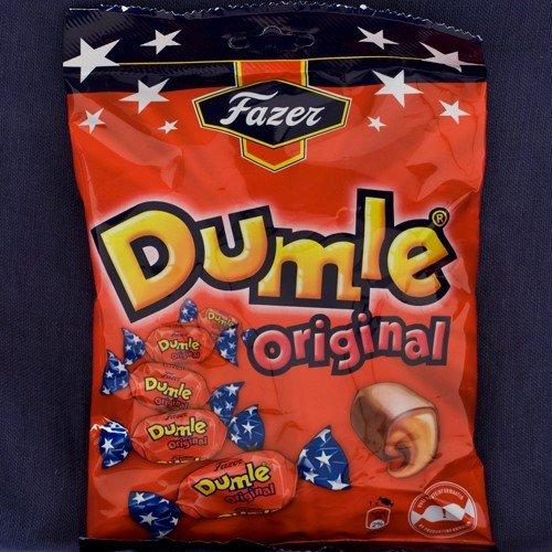 Fazer Dumle Soft Toffee with Milk Chocolate (7.76 ounce)