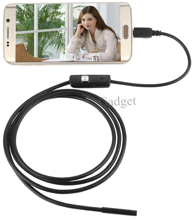 2018 Newest OTG Phone Waterproof Android Endoscope With 5.5mm Camera Head Diameter 1M/2M/3.5M Cable