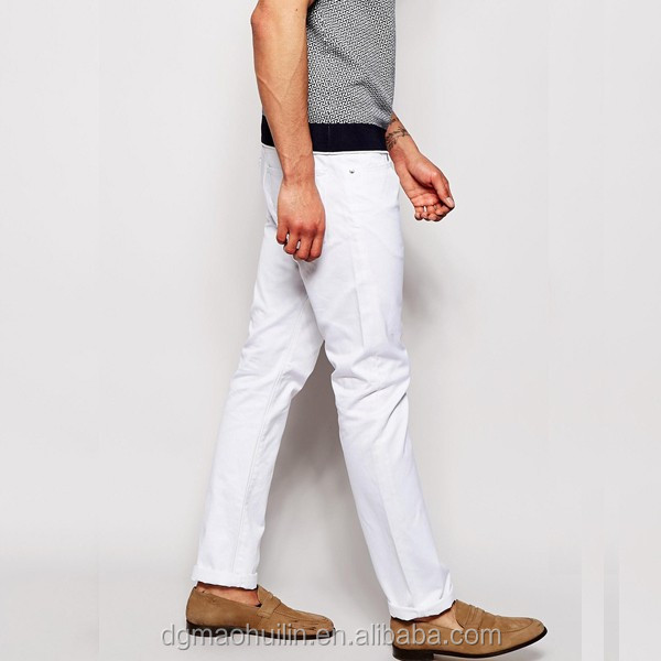 Witte broek heren goedkoop