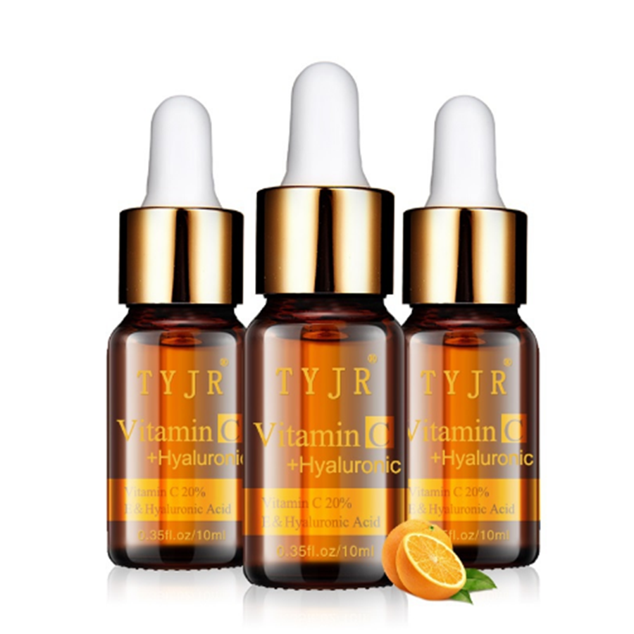 <strong>Vitamin</strong> <strong>C</strong> <strong>Serum</strong> Splash Freckle Remove Anti Wrinkles Essence Dark Blots Disappear Ageless Care Cleansing Facial Skin Care 10ml