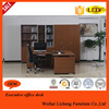 New high end manager office desk/table with bookcase