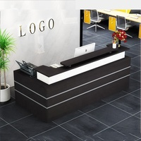 salon cheap restaurant office counter table front office furniture design modern office reception desk