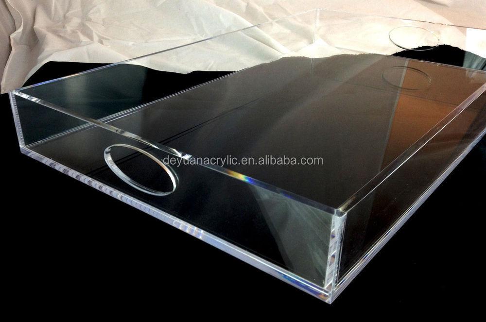 Rectangular Acrylic Insert Paper Tray/acrylic Tray