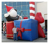 Holiday Theme Inflatables Bouncy for Chrismas Day