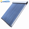 Pressurized copper heat pipe solar hot water collector made in china