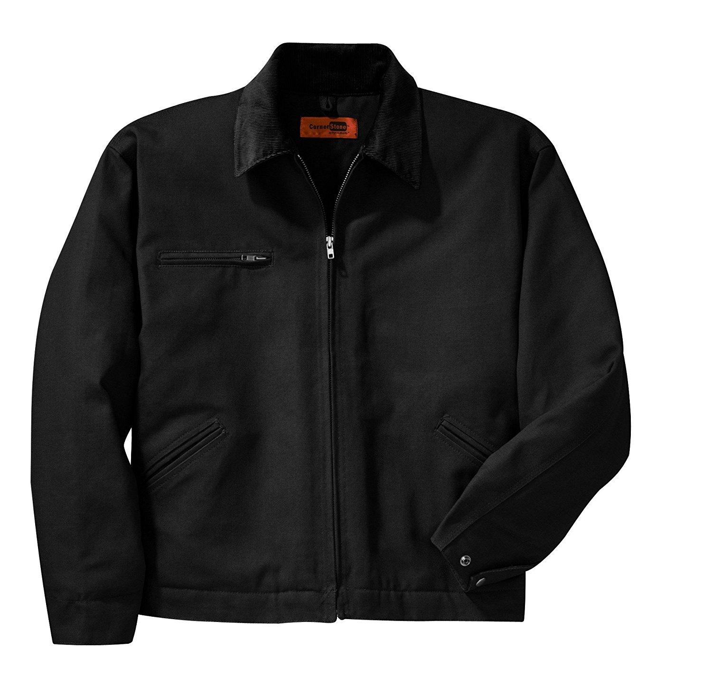 Cornerstone Duck Cloth Work Jacket, XS, Black