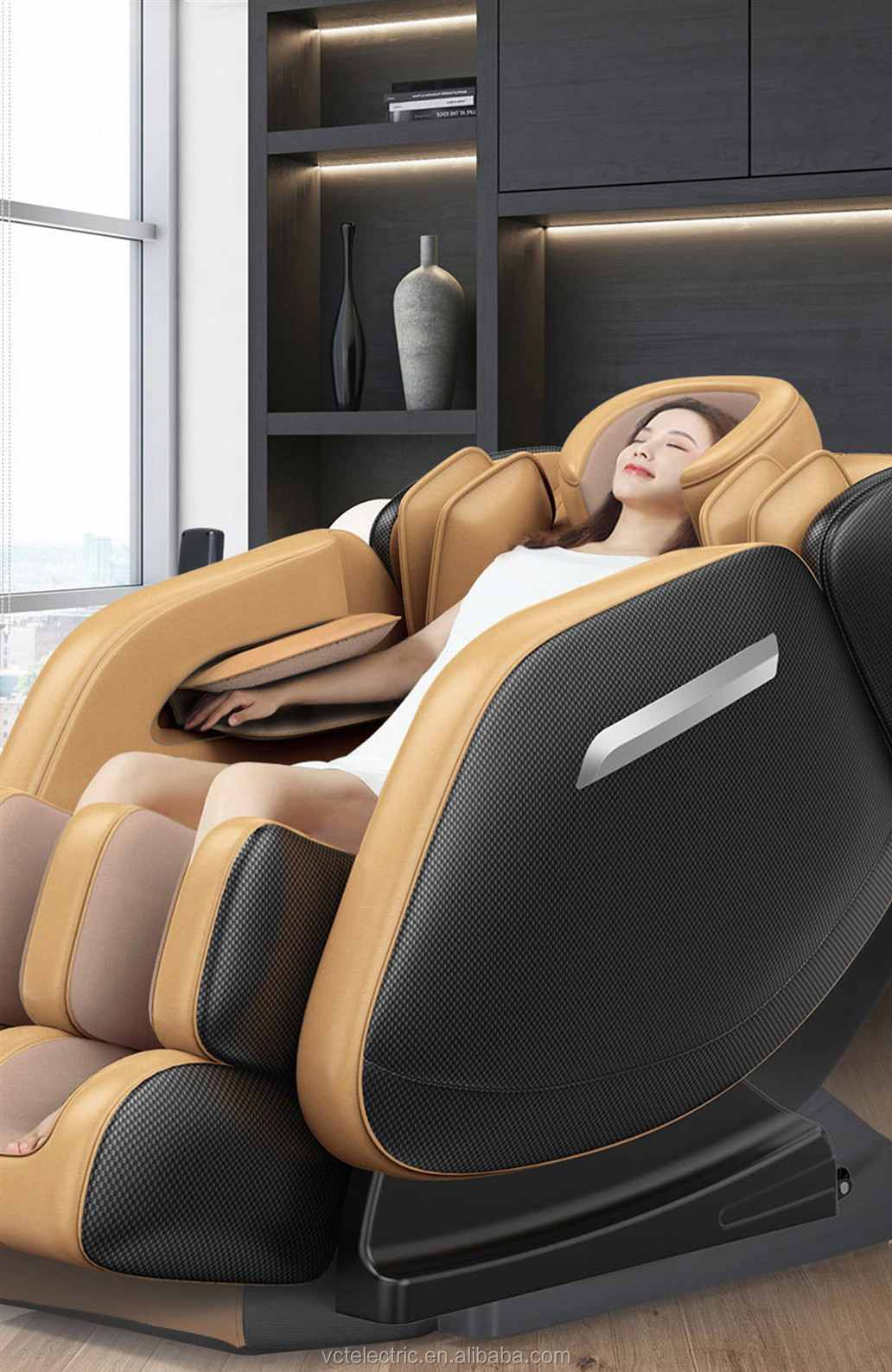 2019 Massager Chair Zero Gravity Capsule Full Body Cheap massage chair with Head Massage