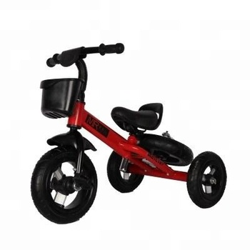 kids tricycle with storage basket /steel mudguard three wheels child tricycles