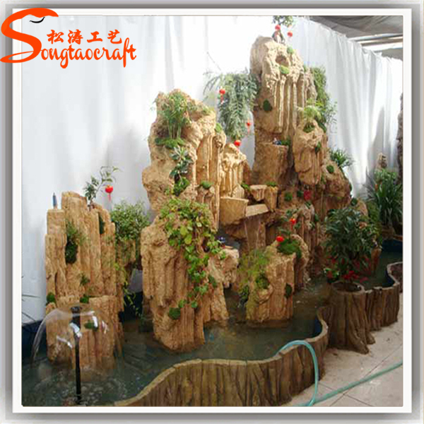 Home Decor High Quality Garden Decorative Stone Wall Waterfall