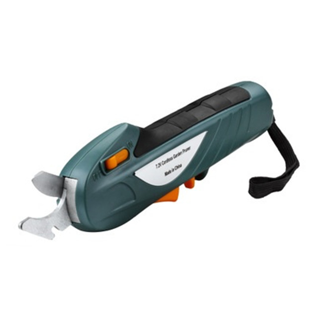 China Factory 7.2v Cordless Light Weight Trimmer Pruning Saw Machine Garden Tool Garden Electric Pruning Shear