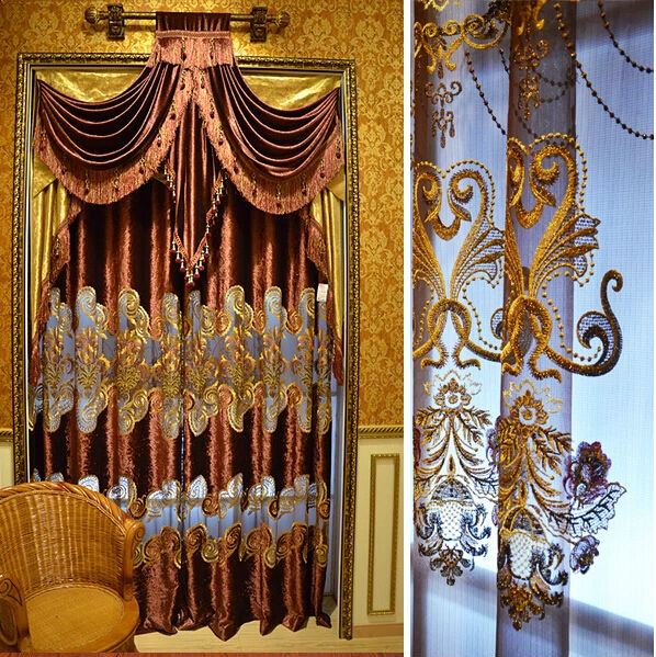 2014 China Wholesale Ready Made Curtain,Indian Style Curtains .