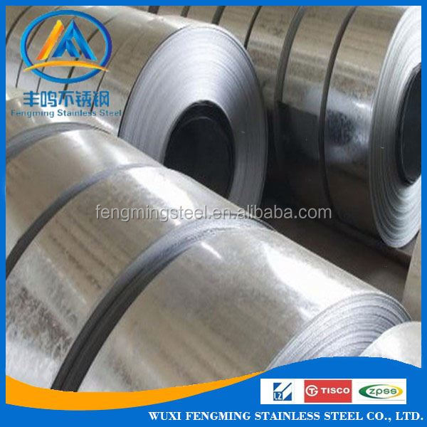 Mill edge stainless steel coil / sheet 201 430 304 per ton with paper interleaved