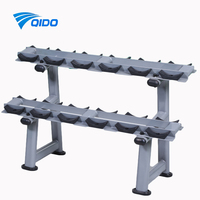 Strength Training six & ten pairs dumbbell rack fitness equipment free Weight Lifting Tree dumbbell set rack