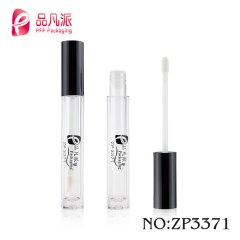 SHANTOU square packaging empty plastic lip gloss tube low moq for sale