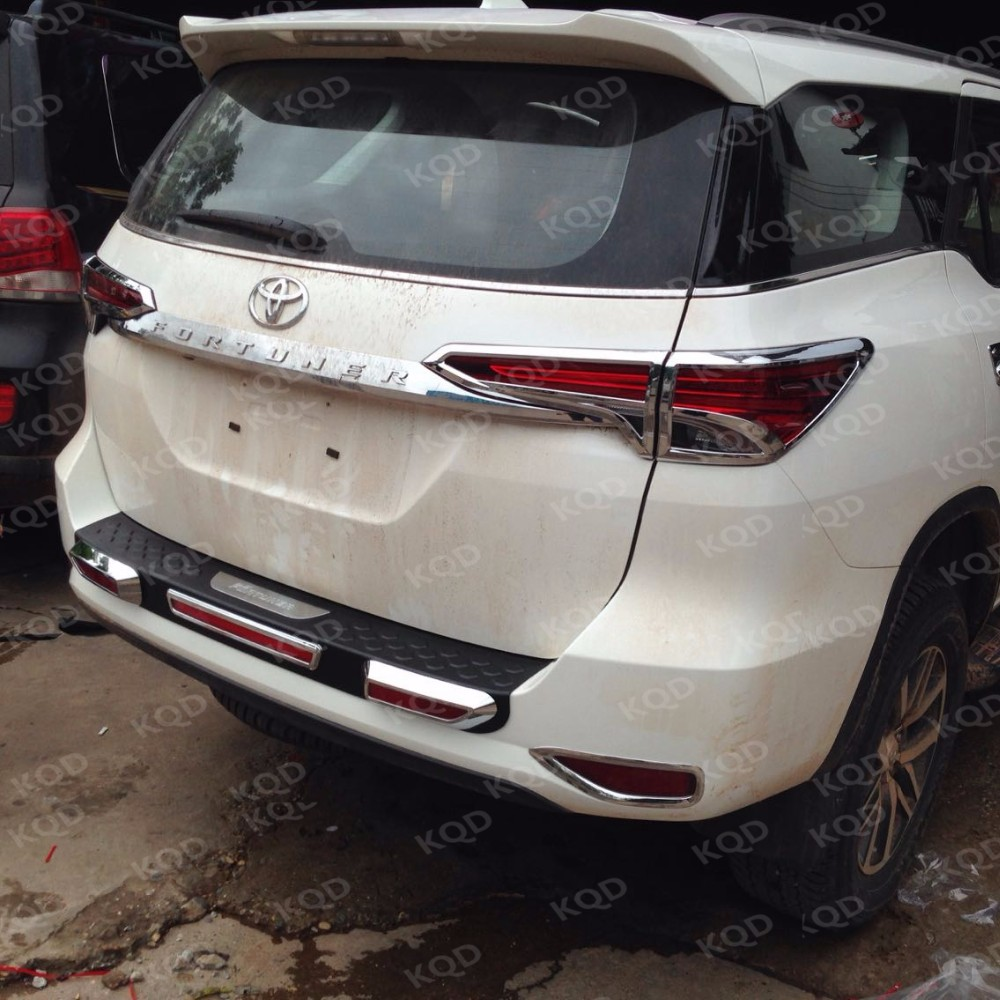 Car Rear Bumper Protector Toyota Fortuner Bumper Accessories Toyota Fortuner 2016 Philippines