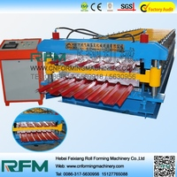 double layers roof panel roll forming machine