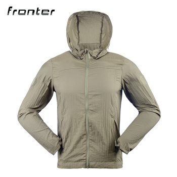 Military Outdoor Breathable Light Anti UV Sun Protection Clothing Jacket
