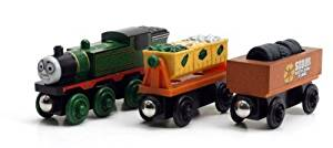 Game / Play Thomas And Friends Wooden Railway - Whiff and the Scrap Cars. Trains, Collectible, Connector Toy / Child / Kid