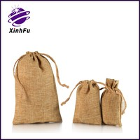 Factory supply for importer of jute drawstring bag