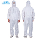 Breathable Cheap Nonwoven Protective Clothing Polyethylene Laminated Suit Coverall For Painter