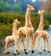 free sample realistic life size giraffe animal toys big size giraffe toys Lifelike stuffed wildlife animals toy