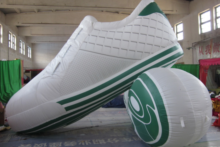 2014 inflatable decoration inflatable shoes for sale/Sports shoes