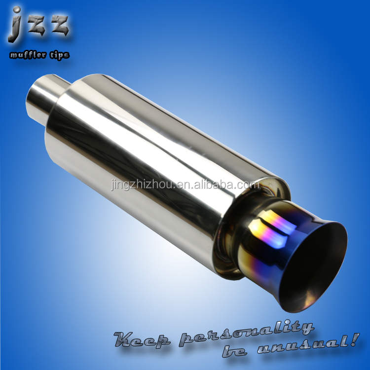 New Model High Quality Stainless Steel 51mm Universal Motorcycle Exhaust Pipe Muffler Racing Exhaust With Sticker