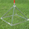 HF Hot Sale Crystal Quartz Pyramids Energy Generators For Clearing Negative