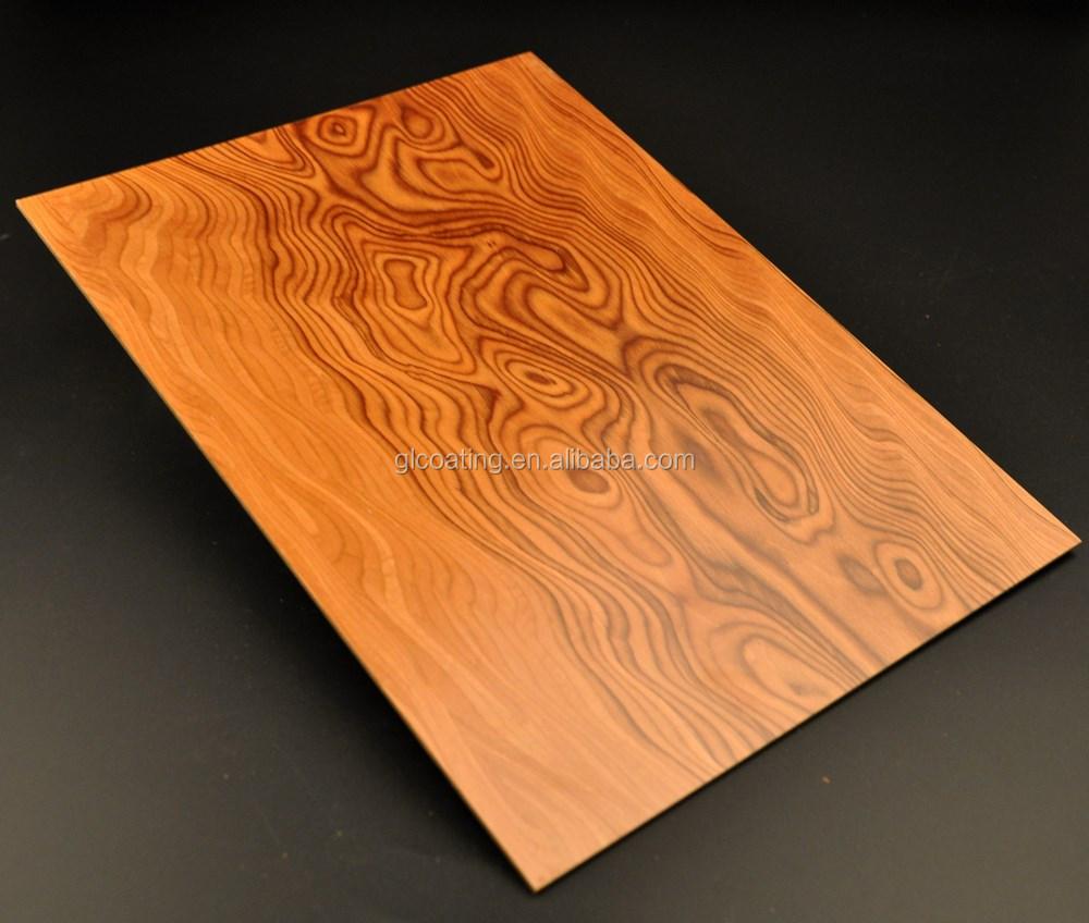 Uv Prefinished Engineered Wood Veneer Mdf