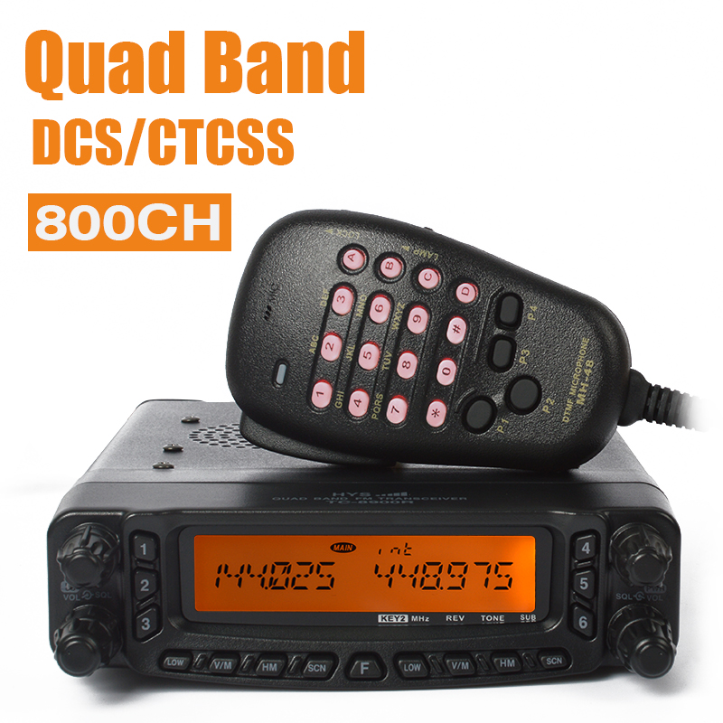 29/50/144/430 Mhz Quad band rádio transceptor hf TC-8900R